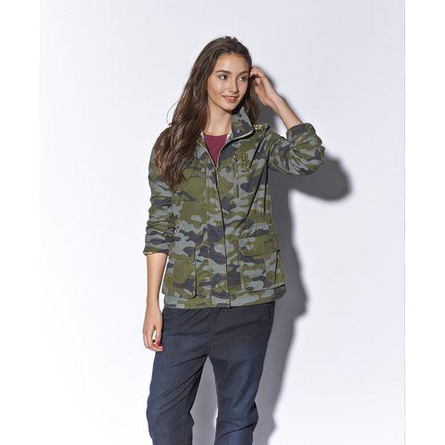Selena Gomez Camo Jacket