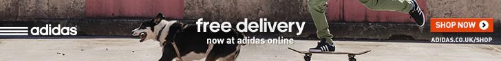 Adidas free deliver ybanner
