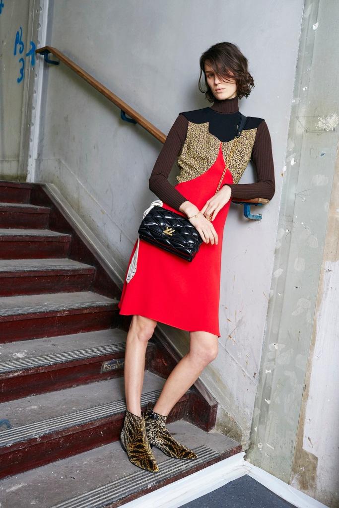 Louis Vuitton Pre Fall 2015 Collection Look 4