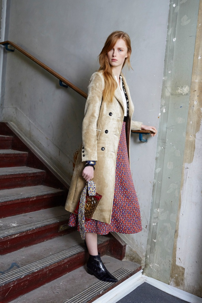 Louis Vuitton Pre Fall 2014 Look 1