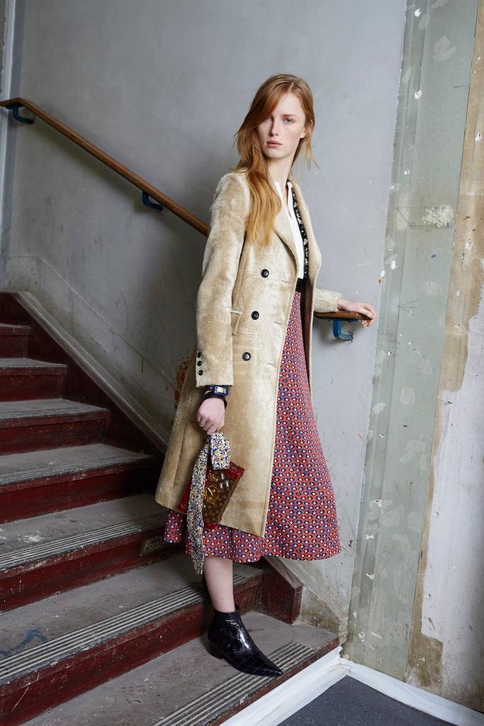 Louis Vuitton Pre Fall 2014 Look 1