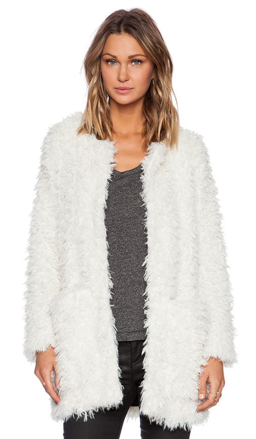 Smythe Chubby Faux Fur Jacket