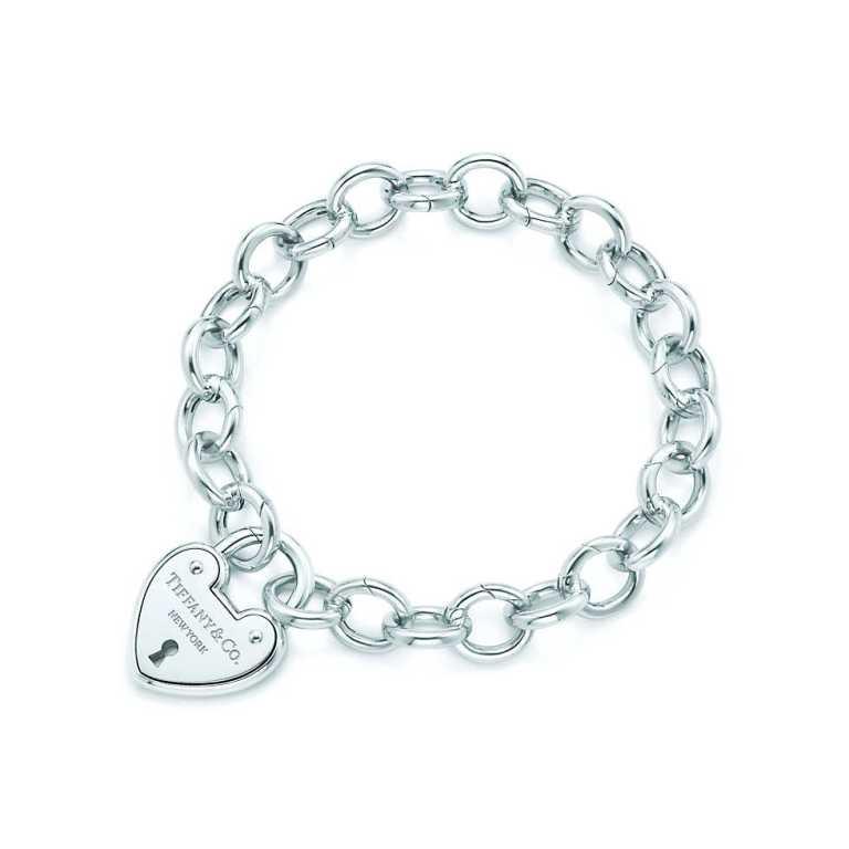 Tiffany & Co Heart Lock Bracelet