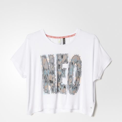 Adidas NEO Selena Gomez cropped Tee
