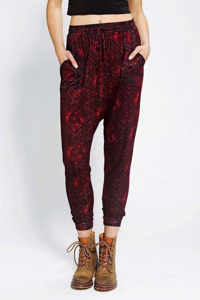 Ecote Knit Harem Pants
