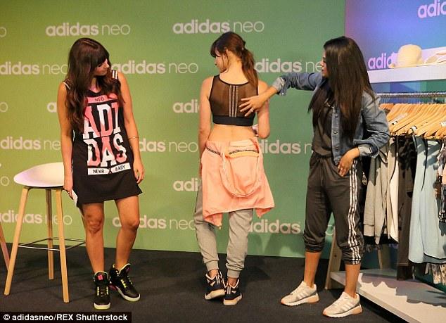 Adidas NEO Hangout Photo: adidasneo/REX Shutterstock