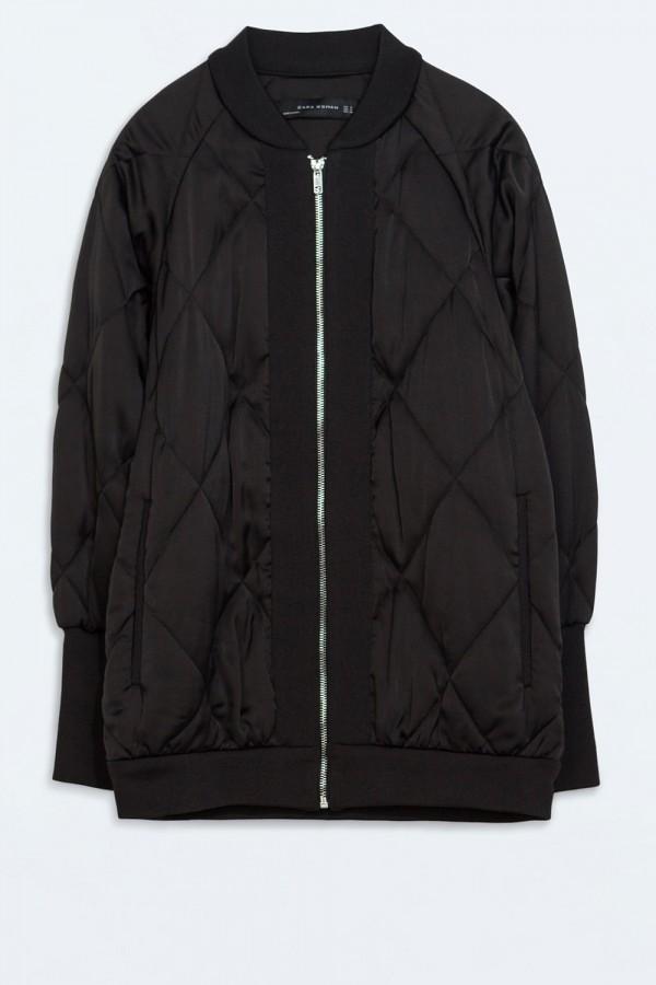 Zara Oversized Bomber Jacket