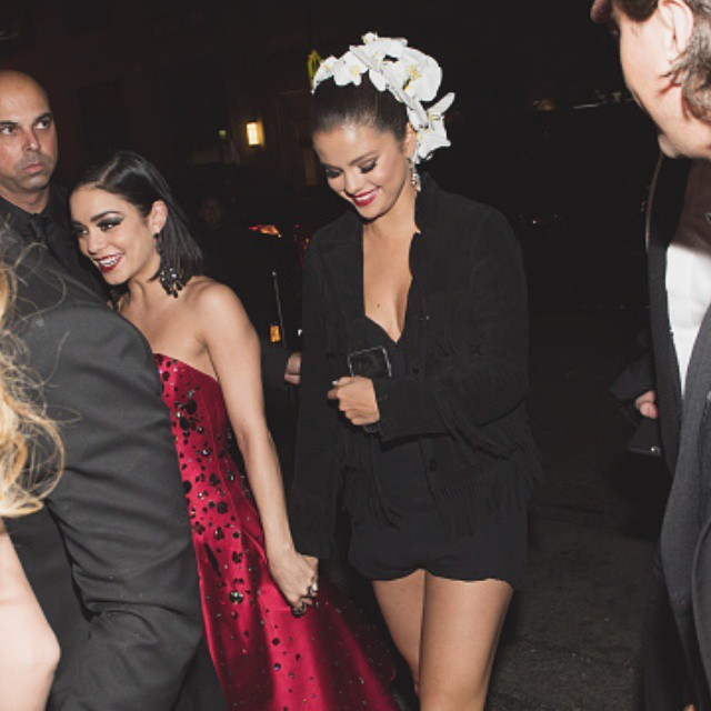 Selena Gomez after Met Gala photo