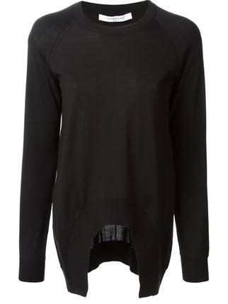Givenchy asymmetric jumper