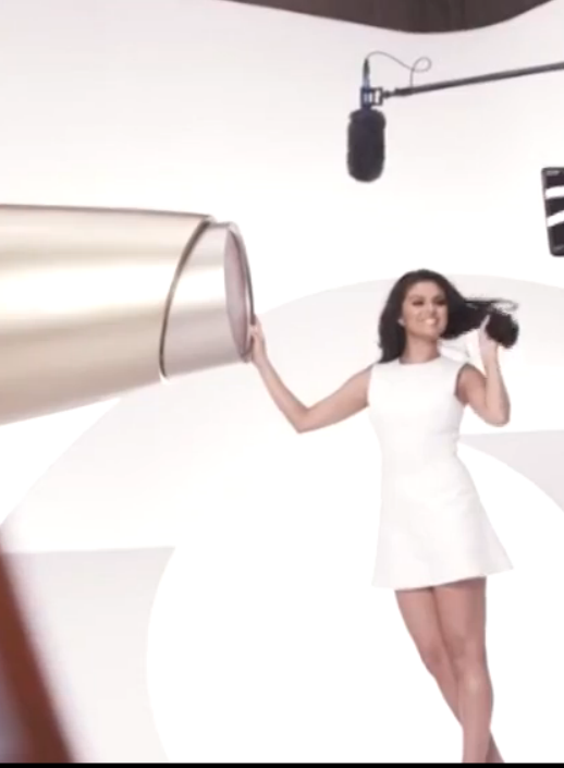 Pantene girl in white dress images