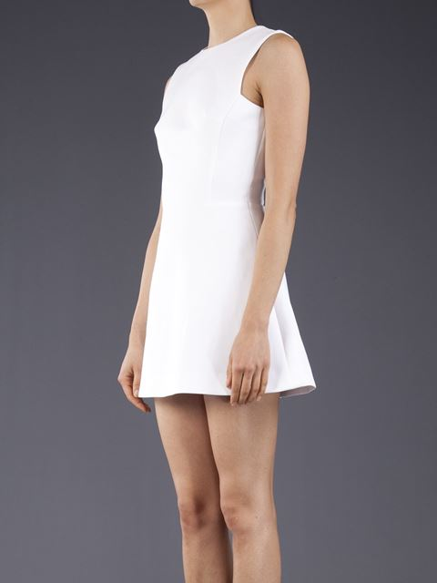 Victoria Beckham A line mini dress