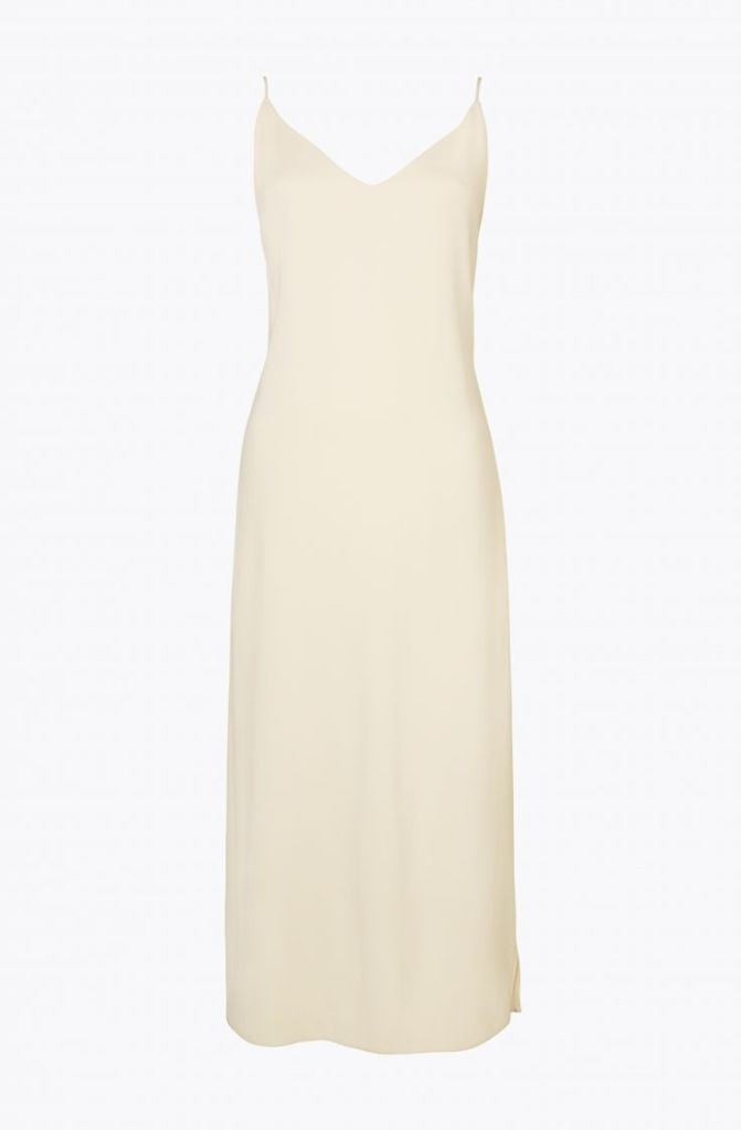 Atea Oceanie ivory slip dress