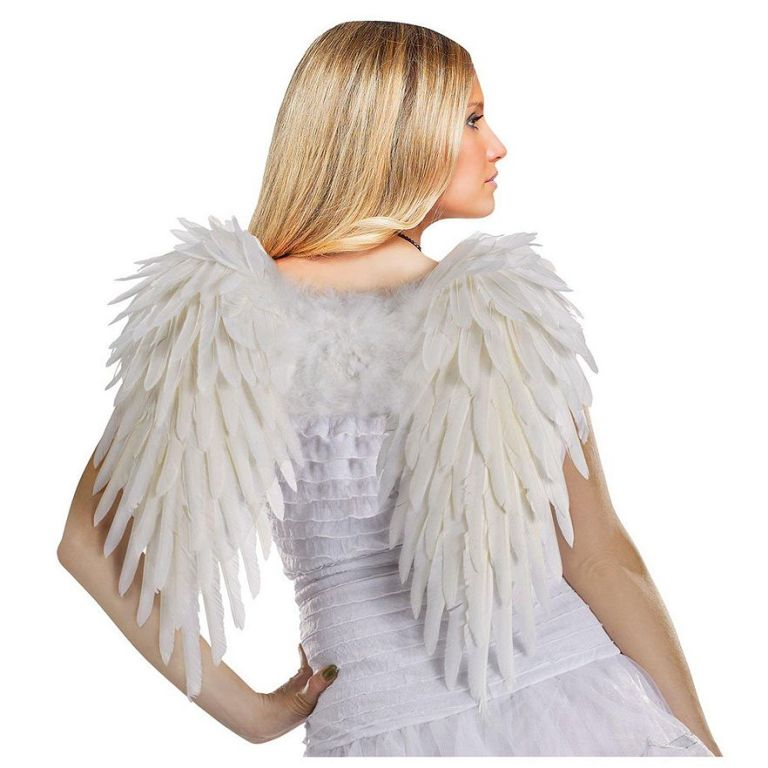 Feather Angel Costume Wings