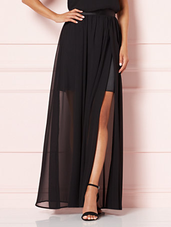 Eva Mendes Collection - Sela Chiffon Maxi Skirt