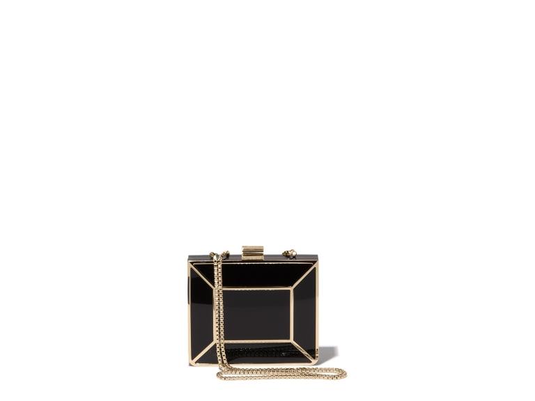 Ferragamo Minaudiere Box Clutch