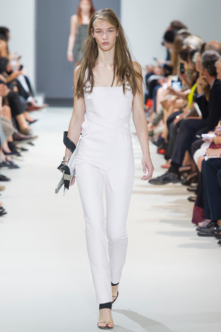 Paco Rabanne white overalls SS 14