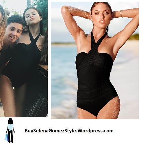 selena-gomez-black-halterneck-swimsuit-cropped