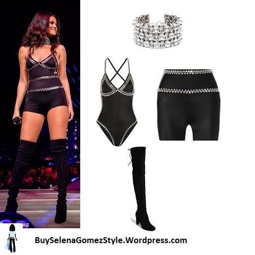 Selena Gomez black hotpants Taylor Swift cropped