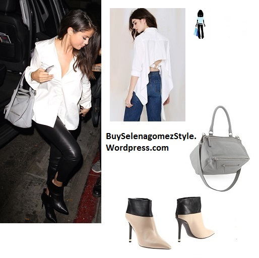 selena gomez enjoys a girls night out at the nice guy.