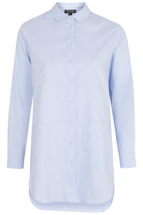 Topshop Oversized Pocket Shirt