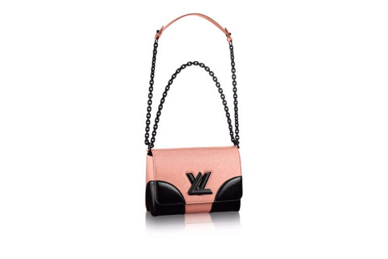 Louis Vuitton Twist MM Rose Nacre