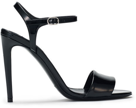 Ralph Lauren 'Blianna' Patent Leather Sandals