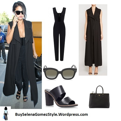 Prada Saffiano Medium Executive Tote Bag – Selena Gomez Style Blog 3fe4d51a8634b
