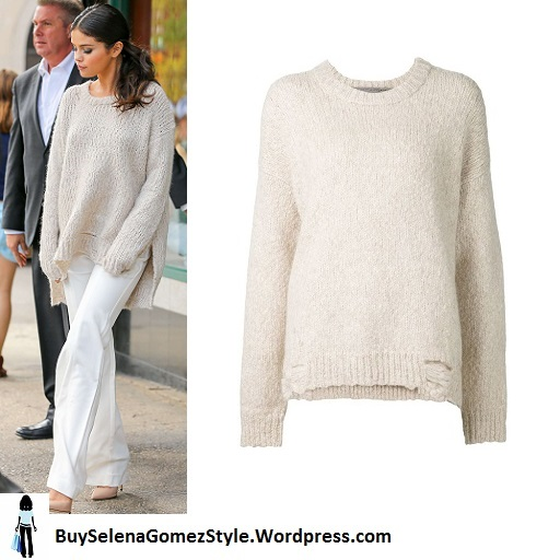 selena-gomez-in-oversize-sweater-nyc cropped