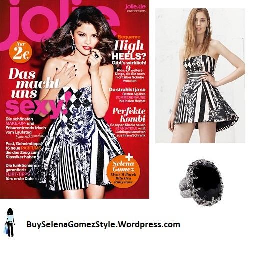 Selena Gomez Jolie magazine instagram