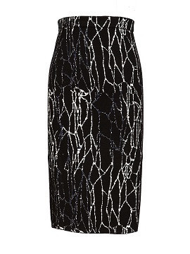 Jonathan Simkhai Spill pencil skirt