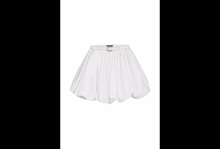 Louis Vuitton Washed Cotton Poplin Bubble Skirt