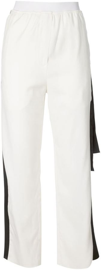 MM6 Maison Margiela Contrast Stripe Trousers