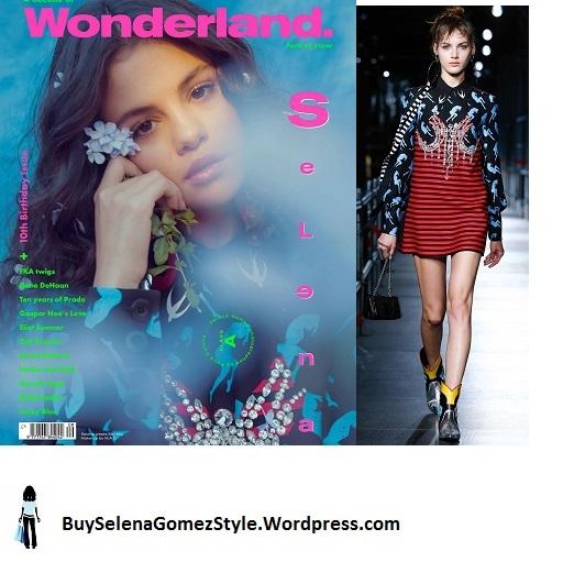 Selena Gomez Wonderland cover instagram