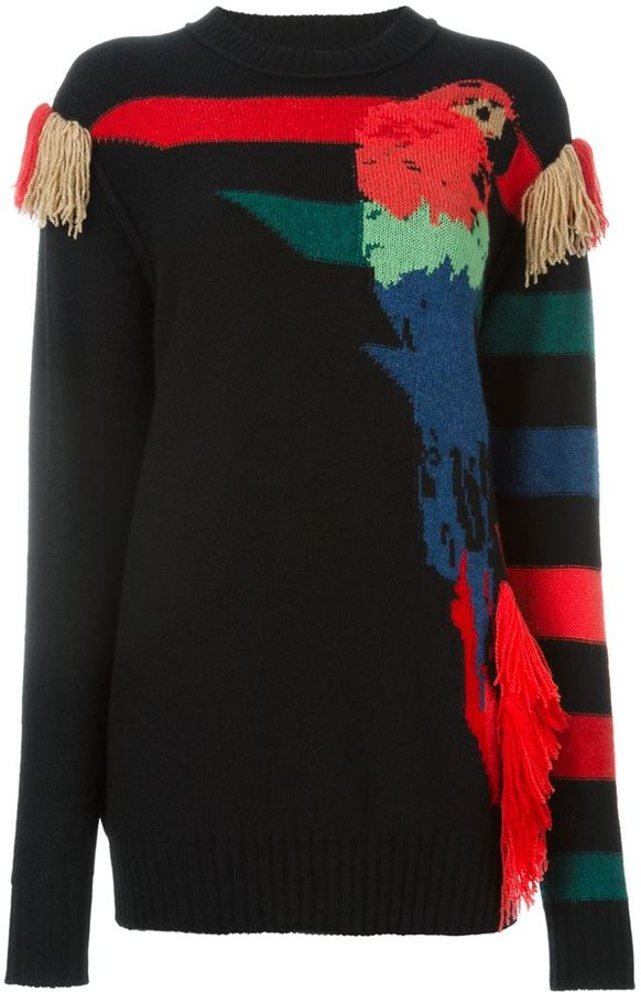 Sonia Rykiel Parrot Intarsia sweater
