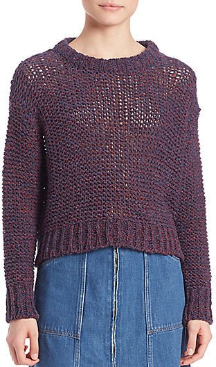 MiH cropped multicolour sweater