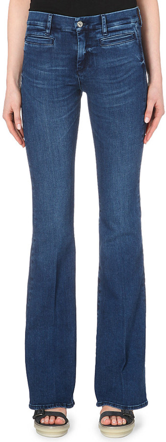 MiH Marrakesh Flared High-Rise Jeans