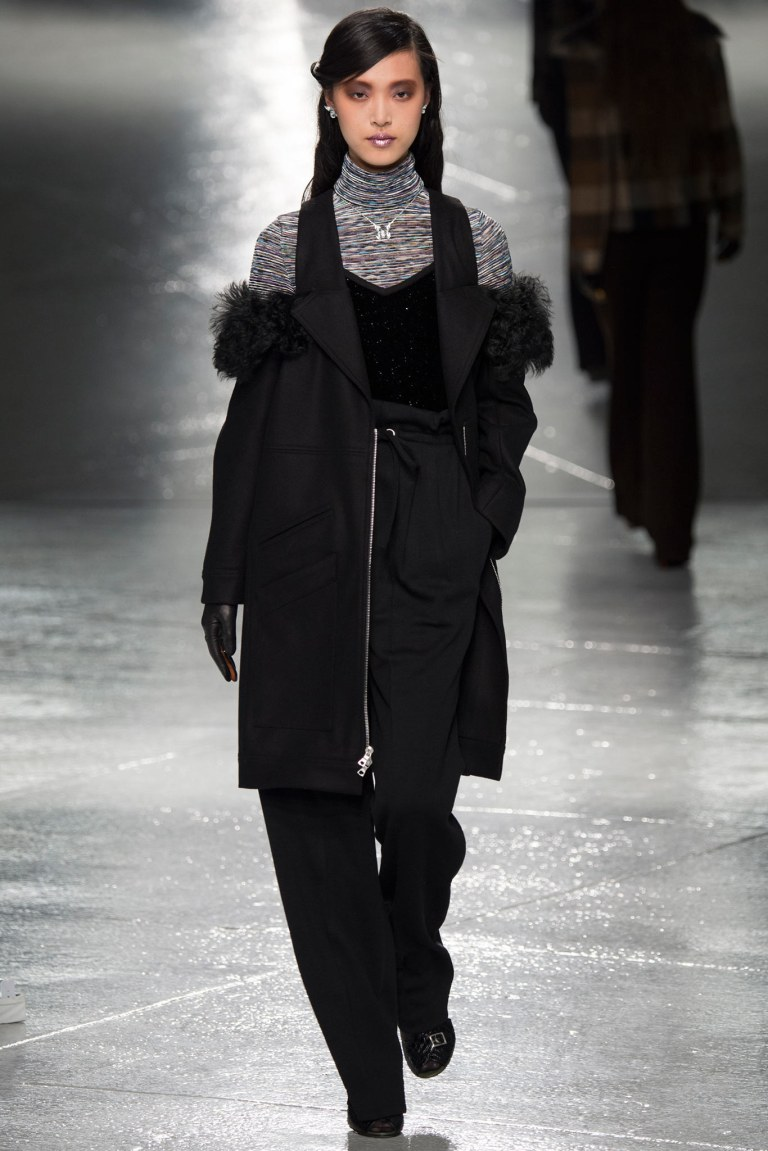 Rodarte Fall Winter 2014 coat photo Yannis Vlamos