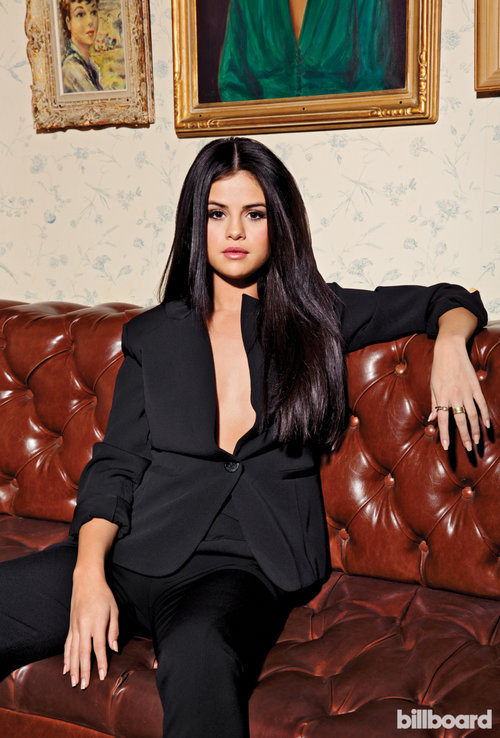 selena-gomez-black suit billboard December 2015 photo Ramona Rosales 2