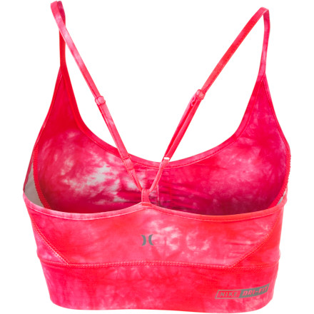 Hurley Pivot Sports Bra back