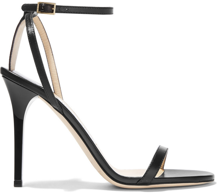 Jimmy Choo 'Minny' Leather Sandals