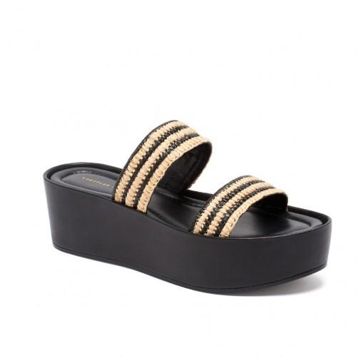 Loeffler Randall 'Luna' platform sandals