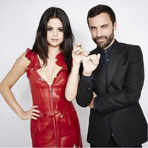 Selena Gomez Nicholas Gesquiere UNICEF Louis vuitton photo Interscope