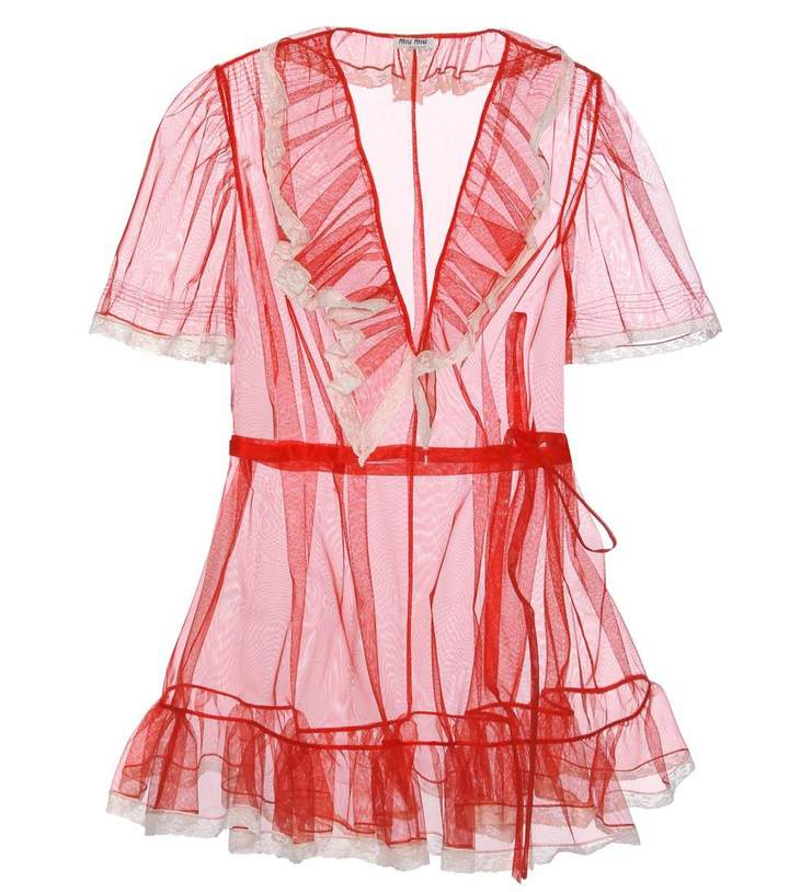 Miu Miu Tulle Dress
