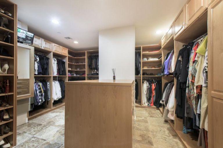 Selena Gomez master closet