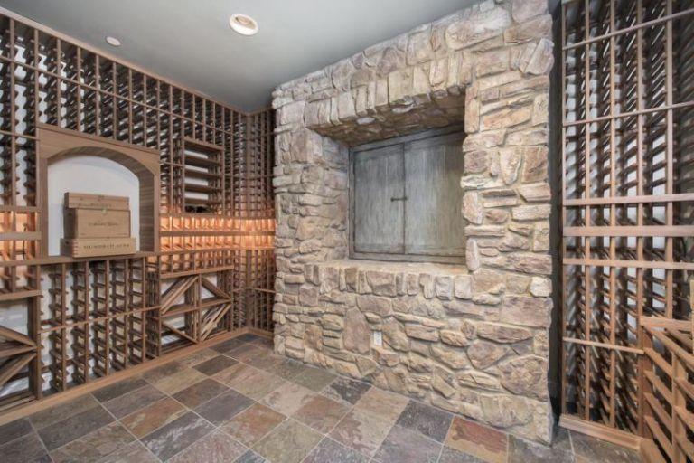 Selena Gomez wine cellar