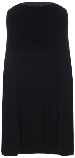 Barrie Glamour Cashmere Knit Poncho