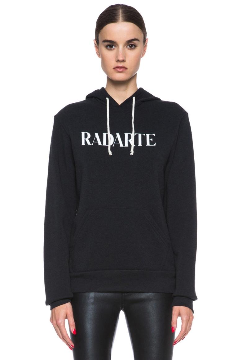Radarte black hoodie