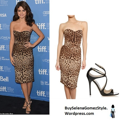 selena-gomez-leopard-print-dress-2013-instagram