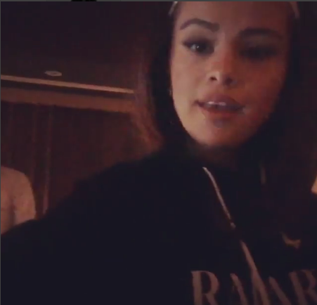 Selena gomez Radarte tracksuit recording studio 2016