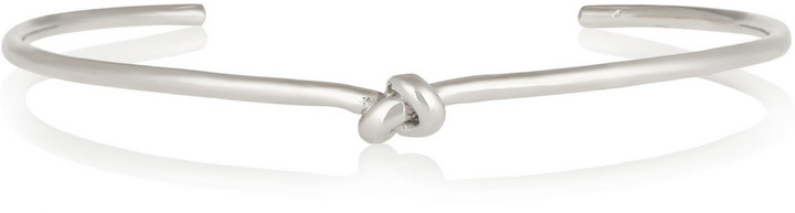 Jennifer Fisher Knot Silver-plated Choker